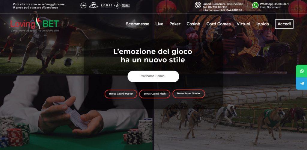 online betting platforms lovingbet